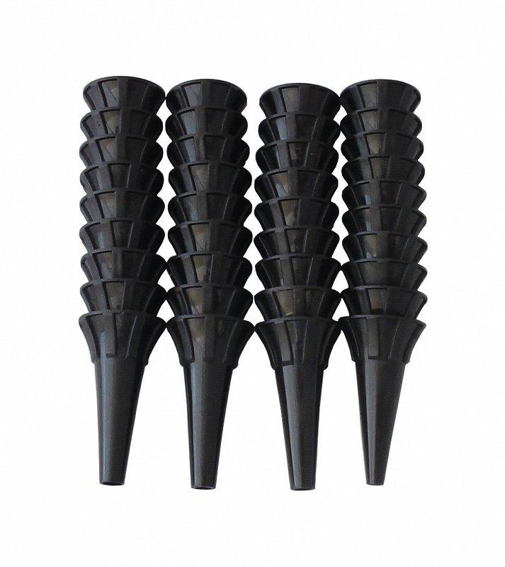 Wzierniki jednorazowe op. 100 szt czarne, 3 mm RIESTER WZIERNIKI JEDNORAZOWE OP. 100 SZT CZARNE, 3 MM
