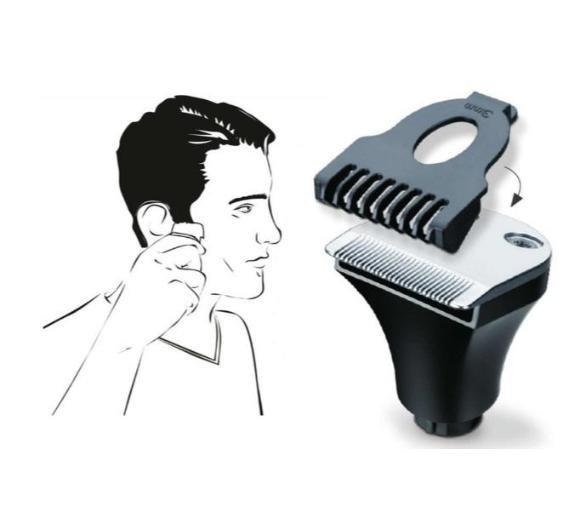 BEURER HR 8000 Golarka rotacyjna do golenia i stylizacji brody