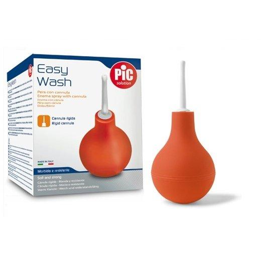 PIC Easy Wash ze sztywnym aplikatorem-650 ml Gumowa gruszka ze sztywnym aplikatorem