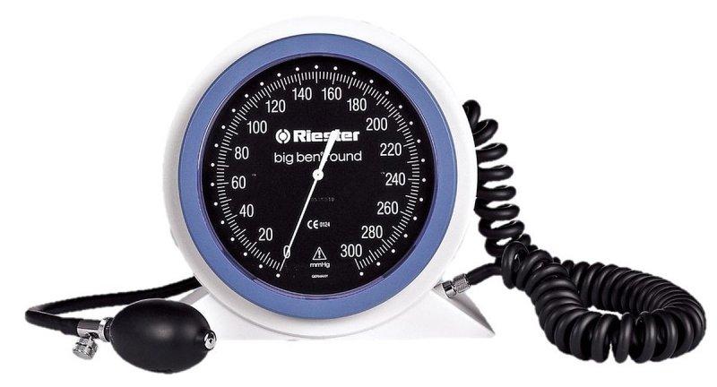 Riester Big Ben-24 - 32 RIESTER 1451 do biurkowego okrągłego Duży lekarski ciśnieniomierz zegarowy
