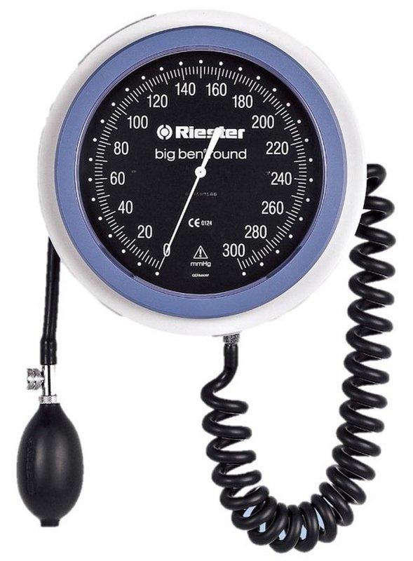 Riester Big Ben-24 - 32 cm RIESTER 1466 do jezdnego okrągłego Duży lekarski ciśnieniomierz zegarowy