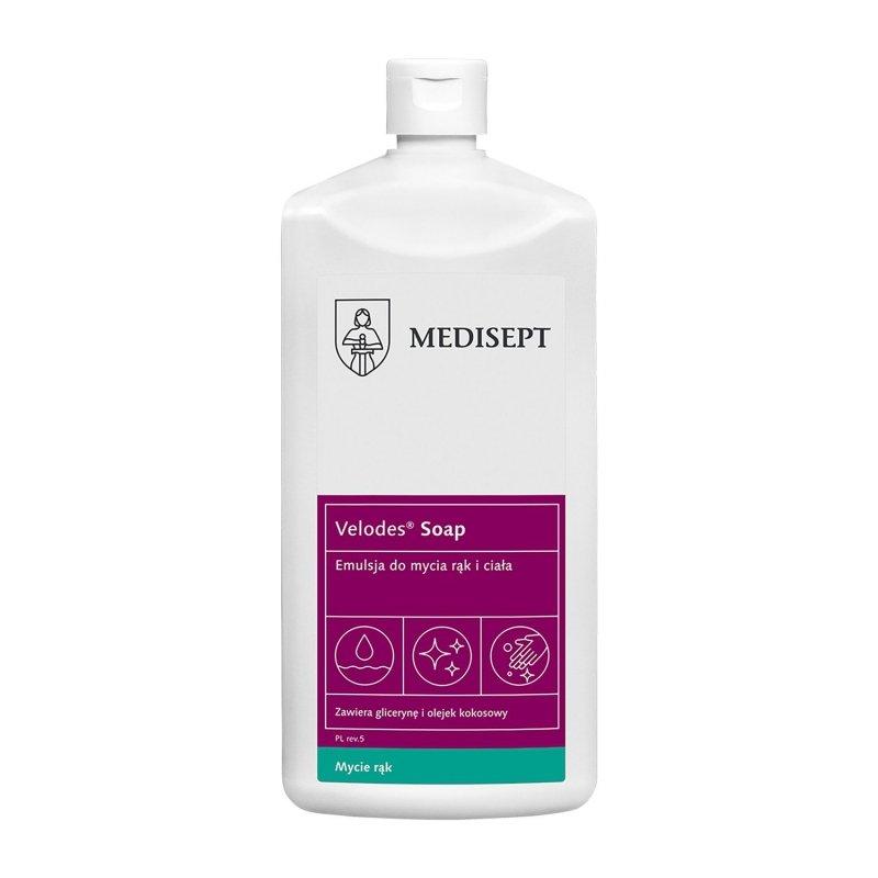 Medisept Velodes Soap-500 ml Emulsja do mycia ciała i rąk