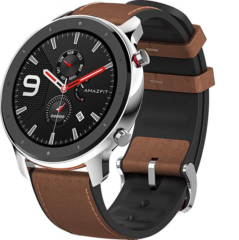Smartwatch Huami Amazfit GTR 47 mm (stal nierdzewna)