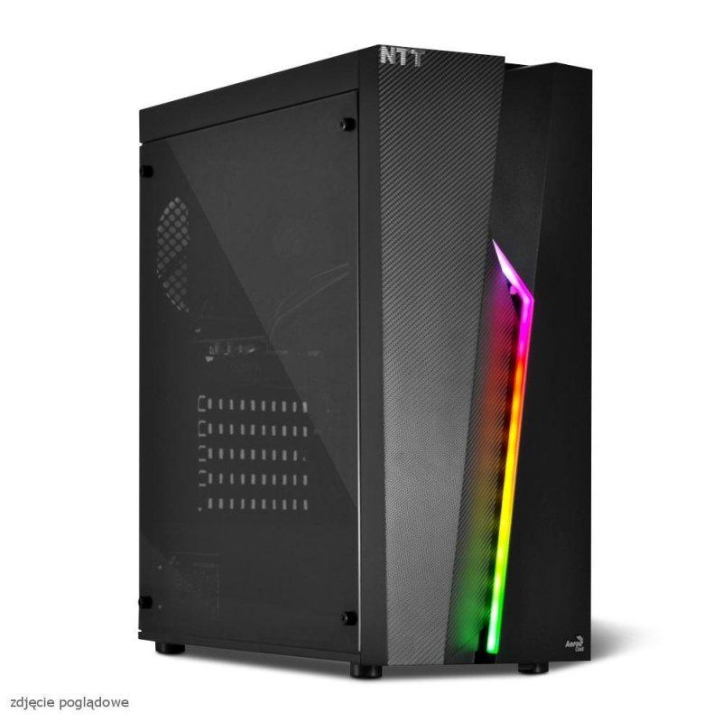 Komputer do gier NTT Game X - i7-9700F, RTX 2060 SUPER 8GB, 16GB RAM, 1TB HDD, 240GB SSD, W10