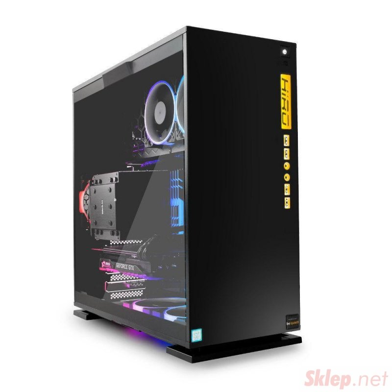 KOMPUTER DO GIER HIRO 303 - AMD RYZEN 5 5600X, RTX 3060 12GB, 16GB RAM, 512GB SSD, W10