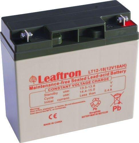 Akumulator żelowy 12V 18Ah Leaftron LT12-18