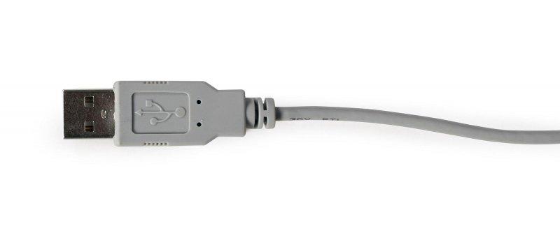 Mikrofon biurkowy USB Gembird MIC-DU-01 ze zintegrowaną kartą dźwiękową