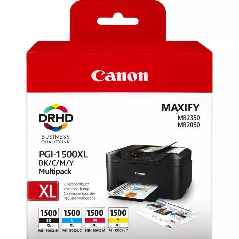 Tusz Canon PGI-1500XL CMYK Multi Pack