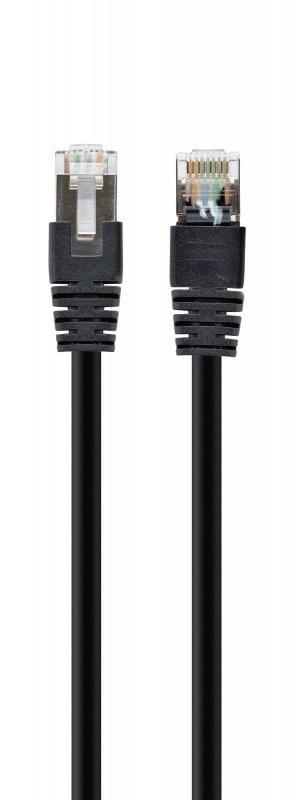 Kabel kat.6A SFTP LSZH Patch cord 1m (czarny) Gembird