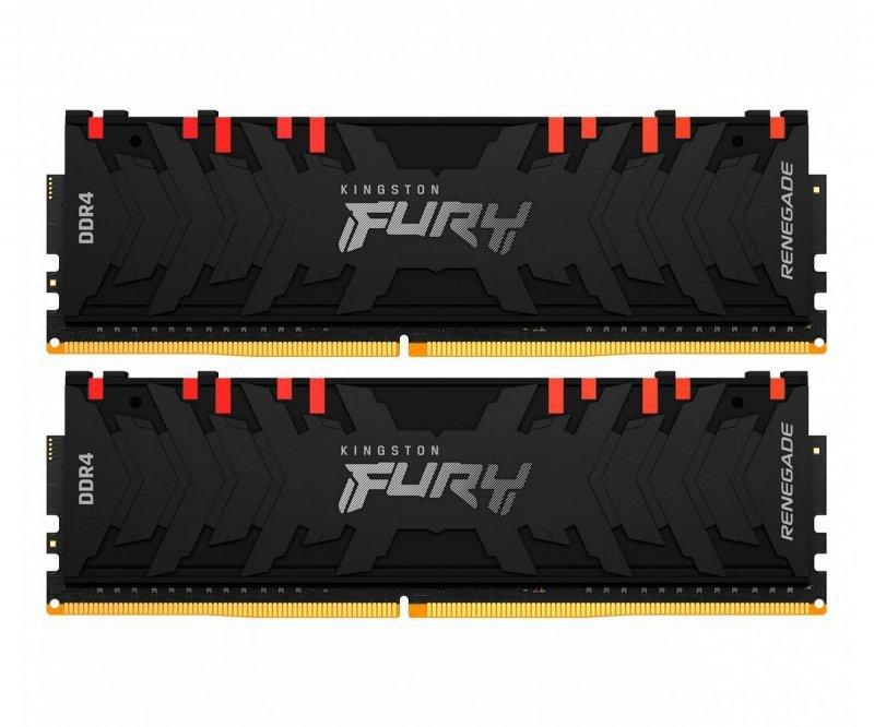 Pamięć RAM HyperX Fury Renegade RGB 16GB (2x8GB) DDR4 3600MHz