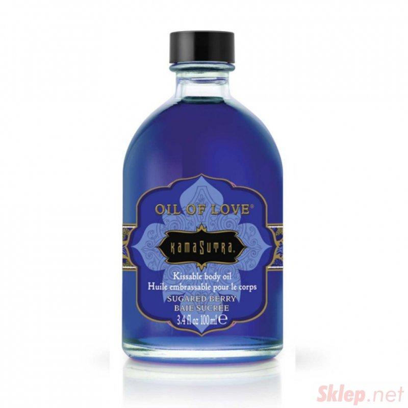 Olejek stymulujący - Kama Sutra Oil of Love Sugared Berry