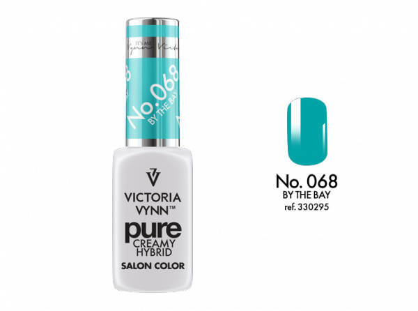 068 By The Bay - kremowy lakier hybrydowy Victoria Vynn PURE (8ml)