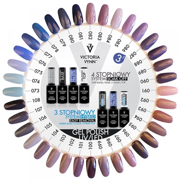 107 Hollywood Mist Lakier Hybrydowy Victoria Vynn Gel Polish