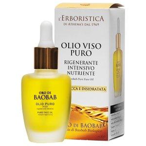Olejek do twarzy z olejem z baobabu o przyjemnym zapachu