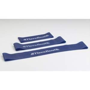 Loop - 7,6 x 20,5 cm obręcz taśma Thera Band niebieska