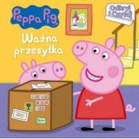 Odkryj i czytaj 3 ważna przesyłka Świnka Peppa