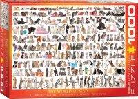 Puzzle 1000 Świat kotów 6000-0580