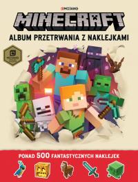 Album przetrwania z naklejkami. Minecraft