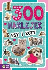 Psy i koty. 300 naklejek