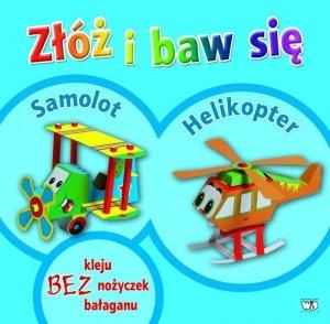 Samolot helikopter złóż i baw się