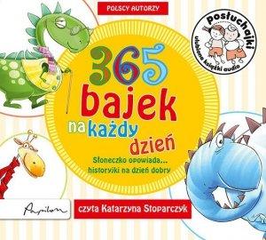 CD MP3 365 bajek na każdy dzień słoneczko opowiada historyjki na dzień dobry posłuchajki