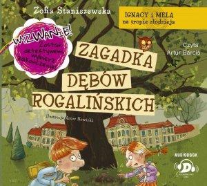 CD MP3 Zagadka dębów rogalińskich Ignacy i Mela na tropie złodzieja