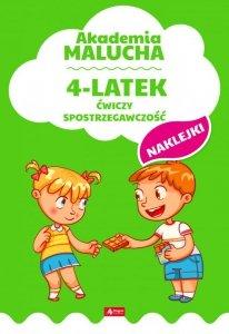 4-latek ćwiczy spostrzegawczość akademia malucha