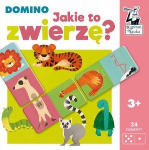 Gra domino Jakie to zwierzę? Kapitan Nauka