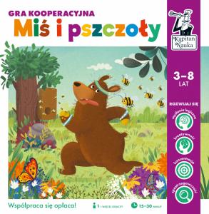 Gra kooperacyjna Miś i pszczoły Kapitan Nauka