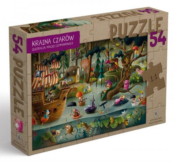 Puzzle 54 Kraina czarów