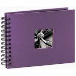 Hama album fine art 24x17/50 fioletowy czarne strony 948810000