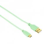 Kabel Type-C USB Flexi 0.75m zielony - Hama