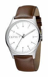 Męski zegarek Esprit ES Essential srebrny Brown - G ES1G034L0015