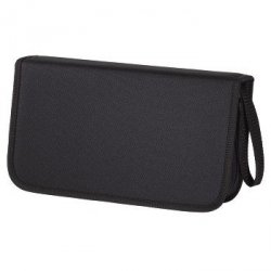 Hama CD-WALLET 104 CD nylon czarny 116170000