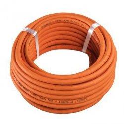 Pimf cat-7 network cable, copper, halogen-free (lszh), 10 m reel