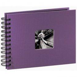 Hama album fine art 24x17 cm 50 stron fioletowy czarne strony