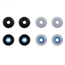 Silikonowe wkładki do słuchawek rozmiar m, 8 szt.