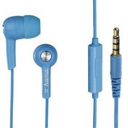 Słuchawki douszne hk2114 z mikrofonem niebieskie