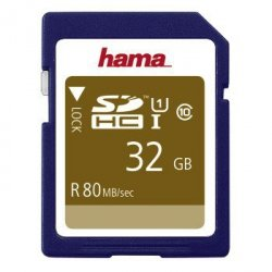 Karta pamięci hs gold sdhc 32gb uhs-i 80mb /s c10