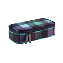 Pencildenzel Pen Case, Green Purple District