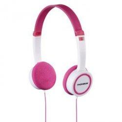 Różowe słuchawki nauszne dla dziewczynki thomson  hed1105