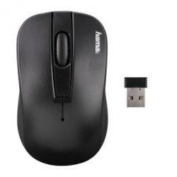 Mysz optyczna bezprzewodowa am-7701 czarna