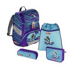 Zestaw szkolny 2w1 4-częciowy Happy Dolphins - Step by Step Hama