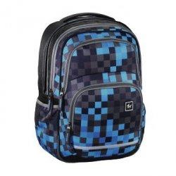 Plecak szkolny Blaby Blue Pixel - All Out Hama