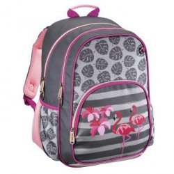 Plecak szkolny flamingo