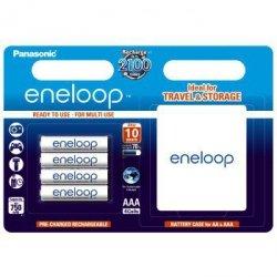 Akumulator Panasonic Eneloop AAA 4 szt. + futeral