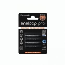 2 akumulatorki Panasonic Eneloop Pro R3 AAA