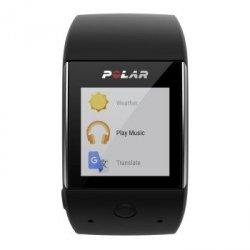M600 czarny zegarek sportowy z pomiarem tĘtna z nadgarstka