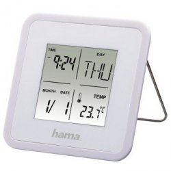 Multi alarm clock, white