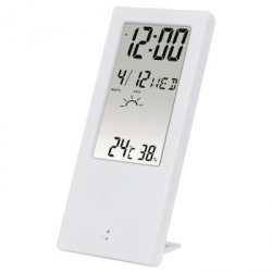 Th-140 therm./hygrometer, white